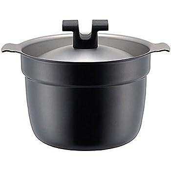 ライスポット 炊飯鍋 T-タイプ 【全面チタニウム・アルミニウム・ステンレス3層鋼】 2合 RP-2T