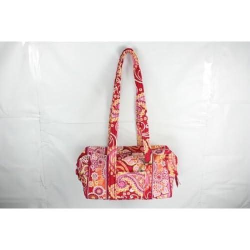 Vera Bradley (ヴェラブラッドリー) 100 Handbag 100ハンドバッグ Raspberry Fizz ラズベリー・フィズ#10065-003【並行輸入品】
