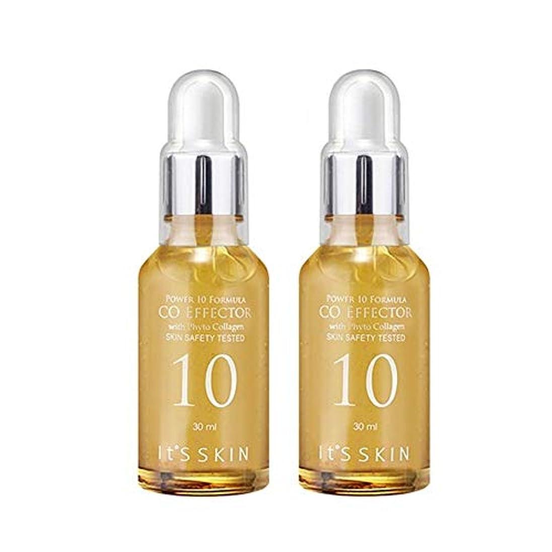 生き残りニコチンデンマークイッツスキンパワー10フォーミュラCO、エフェクターエッセンス30ml x 2本セット、It's Skin Power 10 Formula CO Effector Essence 30ml x 2ea Set [並行輸入品]