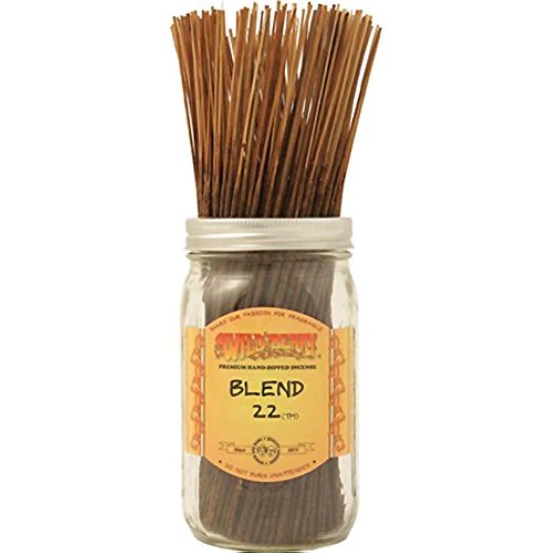 ホラー判読できないルーWild Berry Blend 22 Stick Incense (Value Bundle of 100)