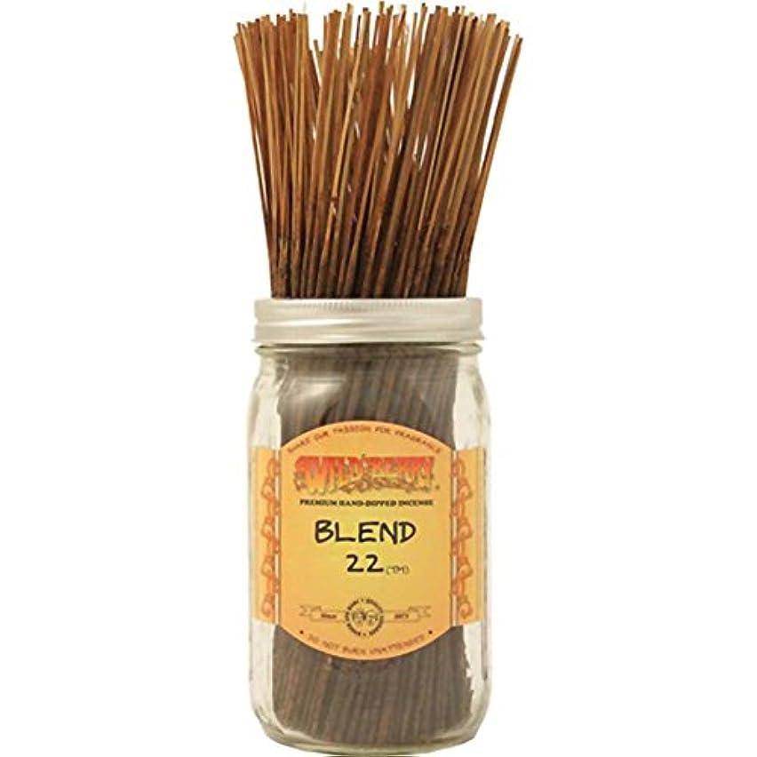 サイトライン疾患クスクスWild Berry Blend 22 Stick Incense (Value Bundle of 100)