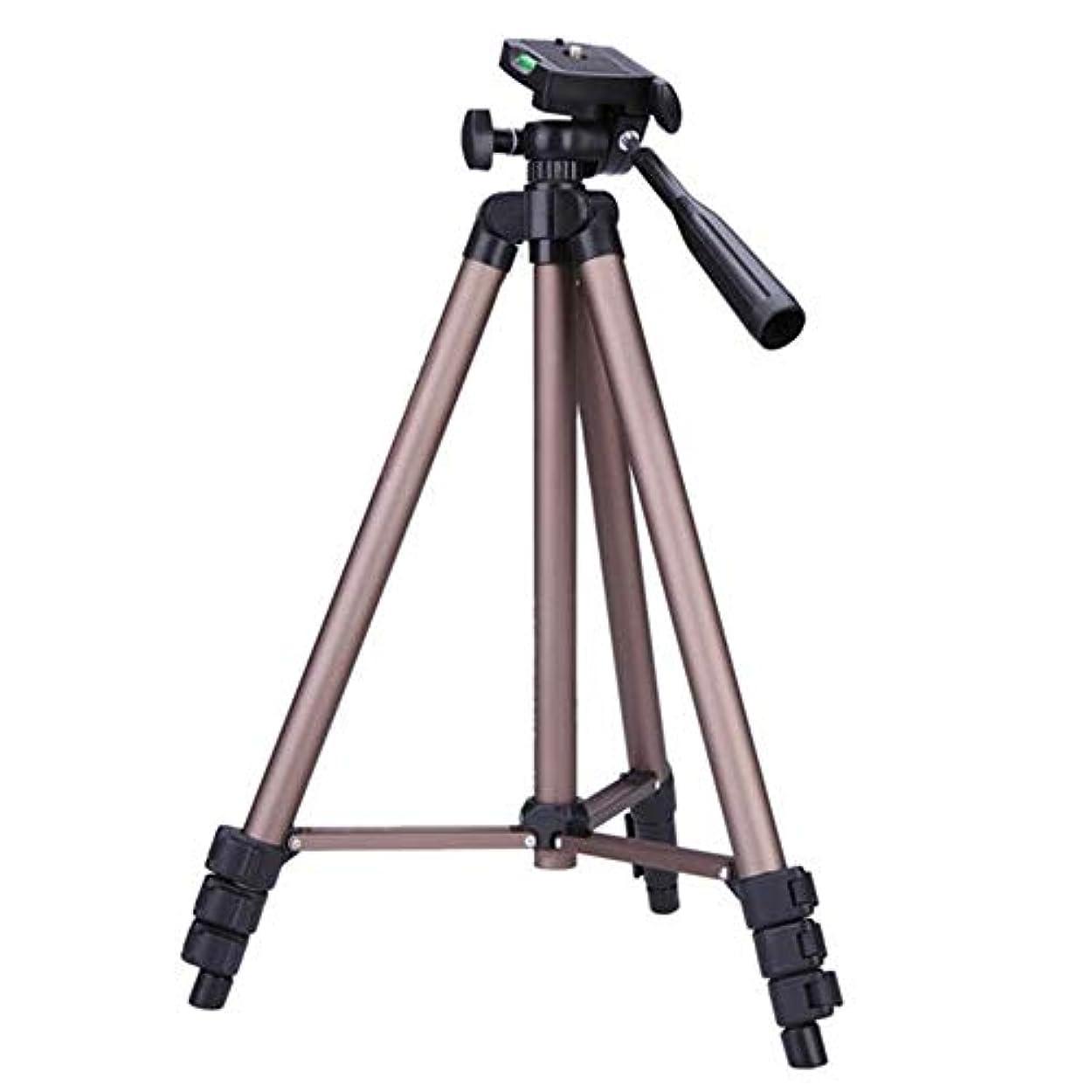 アセ医学プランターコンパクト三脚 デジタル一眼レフカメラビデオカメラ用のアルミ合金Protable三脚 しっかりとした構造で、耐久性もあります (Color : Photo Color, Size : One size)