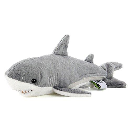 カロラータ ホホジロザメ Sサイズ ぬいぐるみ (検針2度済み) 動物 [やさしい手触り] 14.5cm×10.5cm×26cm