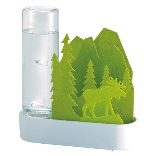 積水樹脂 自然気化式ECO加湿器 うるおいちいさな森 エルク‐...
