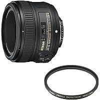 Nikon 単焦点レンズ AF-S NIKKOR 50mm f/1.8G フルサイズ対応 + Kenko レンズフィルターセット