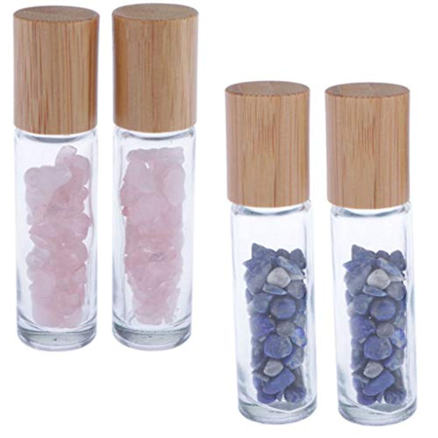 間違っているロンドンアクセサリーHellery 香水 ロールオン アトマイザー 小分け ガラスボトル 詰め替え エッセンシャルオイルボトル