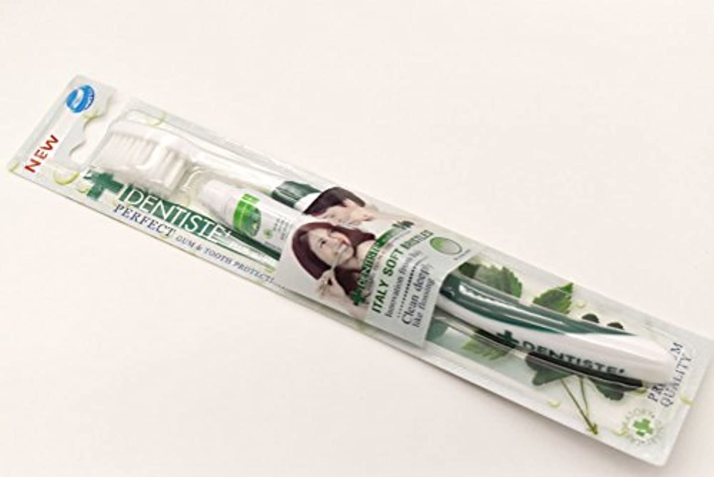 DENTISTE' デンティス 歯ブラシ 歯磨き粉5g付き (アソート歯ブラシ※色は選べません) 並行輸入品