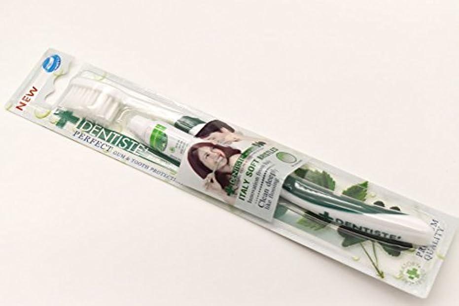 公平な角度取り扱いDENTISTE' デンティス 歯ブラシ 歯磨き粉5g付き (アソート歯ブラシ※色は選べません) 並行輸入品