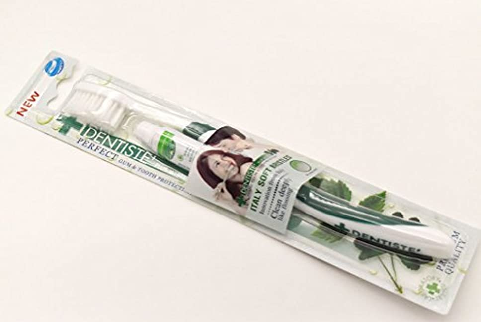 ドラマバッテリー化学薬品DENTISTE' デンティス 歯ブラシ 歯磨き粉5g付き (アソート歯ブラシ※色は選べません) 並行輸入品
