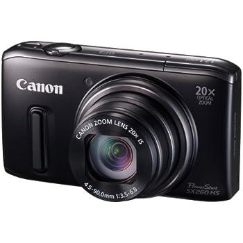 Canon デジタルカメラ PowerShot SX260HS 光学20倍ズーム GPS機能 PSSX260HS