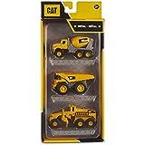 Caterpillar 82273 CAT Diecast Construction 3 Pack-Mixer/Dump Truck/Grader
