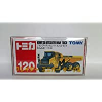 ( 2nd ) CMC OrdinaryメールShips with絶版Tomica No 120 Komatsu articulated dump truck My Shopクリアケース