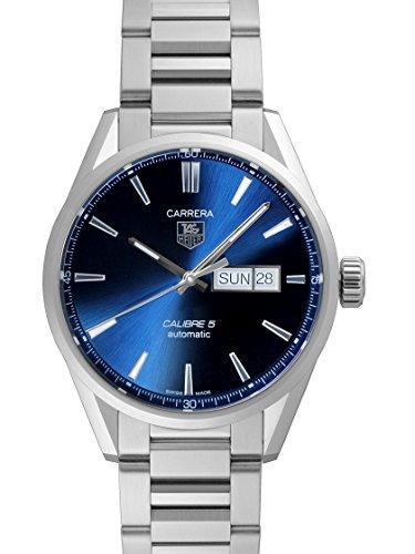 [タグホイヤー] TAG HEUER 腕時計 カレラ デイデイト ブルー WAR201E.BA0723 メンズ 新品 [並行輸入品]