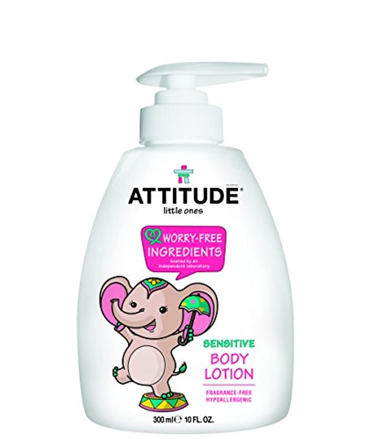 スカルク無声で診療所Attitude Littleones Bodylotion Neutral 300 ML (order 6 for trade outer) / ???????????????????????300 ML ??????...