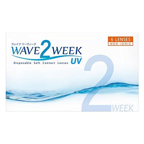 WAVE 2ウィーク UV (2週間使い捨てタイプ6枚入り)PWR(-3.00)