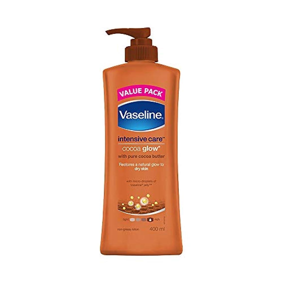 アストロラーベガラガラチキンVaseline Intensive Care Cocoa Glow Body Lotion, 400 ml