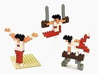 ナノブロック × 大図まこと 体操 (あん馬&吊り輪&床)