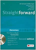 Straightforward Second Edition. Elementary. Teacher's Book with Resource DVD-ROM and ebook
