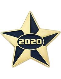 Pinmartの2020ブルーandゴールドStarクラスの学校卒業式エナメルラペルピン 10