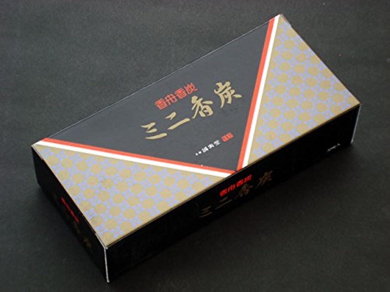 固体記述するシュリンク一番小さい香炭 ミニ香炭
