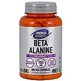 [海外直送品] ナウフーズ  - ベータアラニン 750 mg。120カプセル