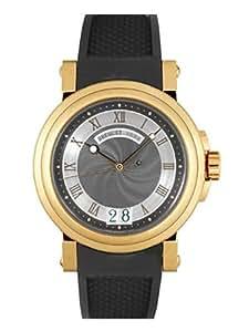 [ブレゲ] BREGUET 腕時計 マリーン2 ラージデイト 5817BR/Z2/5V8 PG/ラバー メンズ 新品 [並行輸入品]