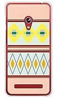 携帯電話taro 楽天モバイル ZenFone 5 ケース カバー (アジアン◆エスニック・ピンク) ASUS ZenFone5-COM-9002