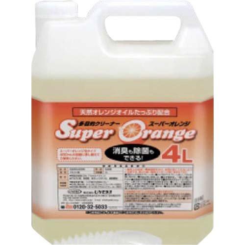 スーパーオレンジ 消臭除菌泡タイプ 業務用 4L