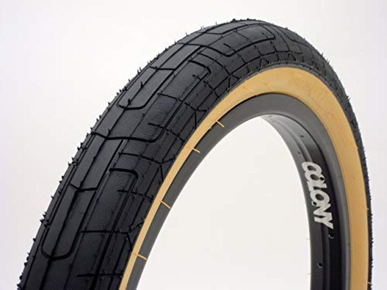 スキャン簡単に樹皮(BMX ストリート タイヤ) COLONY Griplock Tyre 2.35