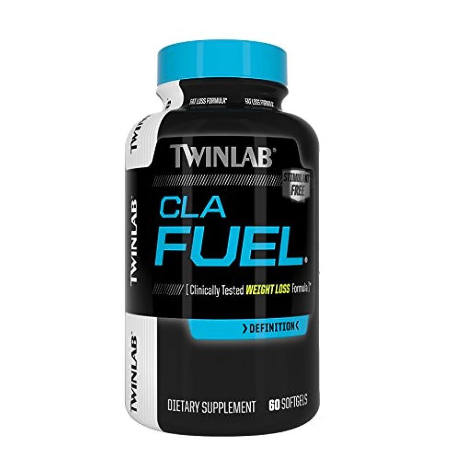 可愛いもう一度大脳海外直送品Stimulant Free CLA Fuel, 60 Sgels by Twinlab