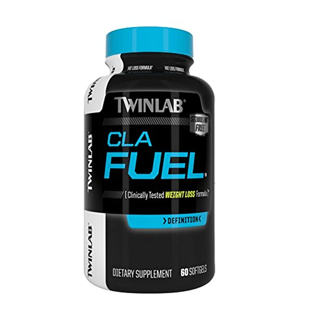 賃金びっくりする患者海外直送品Stimulant Free CLA Fuel, 60 Sgels by Twinlab