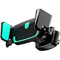 自動車電話ホルダー、ExtreeスマートフォンCar Air Vent Mount Holder Cradleと互換性Iphone X 8 8plus 7 7plus SE 6s 6plus 6 5s 5 4s 4 Samsung Galaxy s9 s8 note8 LG Nexus Sony Nokia and More。。。 ブラック