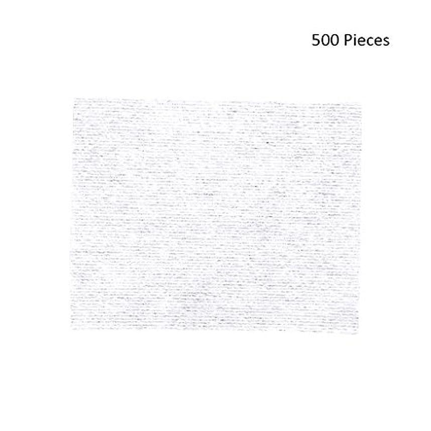 上へボトル寛大なクレンジングシート 500ピースフェイスメイクアップリムーバーメイクワイプコットンパッドメイクアップリムーバーパッドソフトパッド化粧品フェイスマスククレンジングケア 落ち水クレンジング シート モイスト (Color : White, サイズ : 6*5cm)
