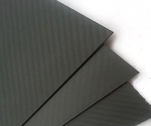 ARRIS 3Kカーボンファイバープレート200X300X1.5MM 100%炭素繊維 積層板 綾織 マット表面処理(1pcs)