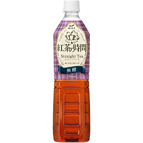 紅茶の時間 ストレートティー 無糖 930ml ×12本