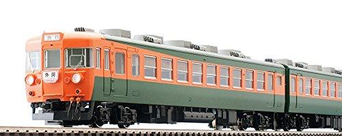 TOMIX HOゲージ HO-9012 153系急行電車  冷改車 低運転台 基本  4両