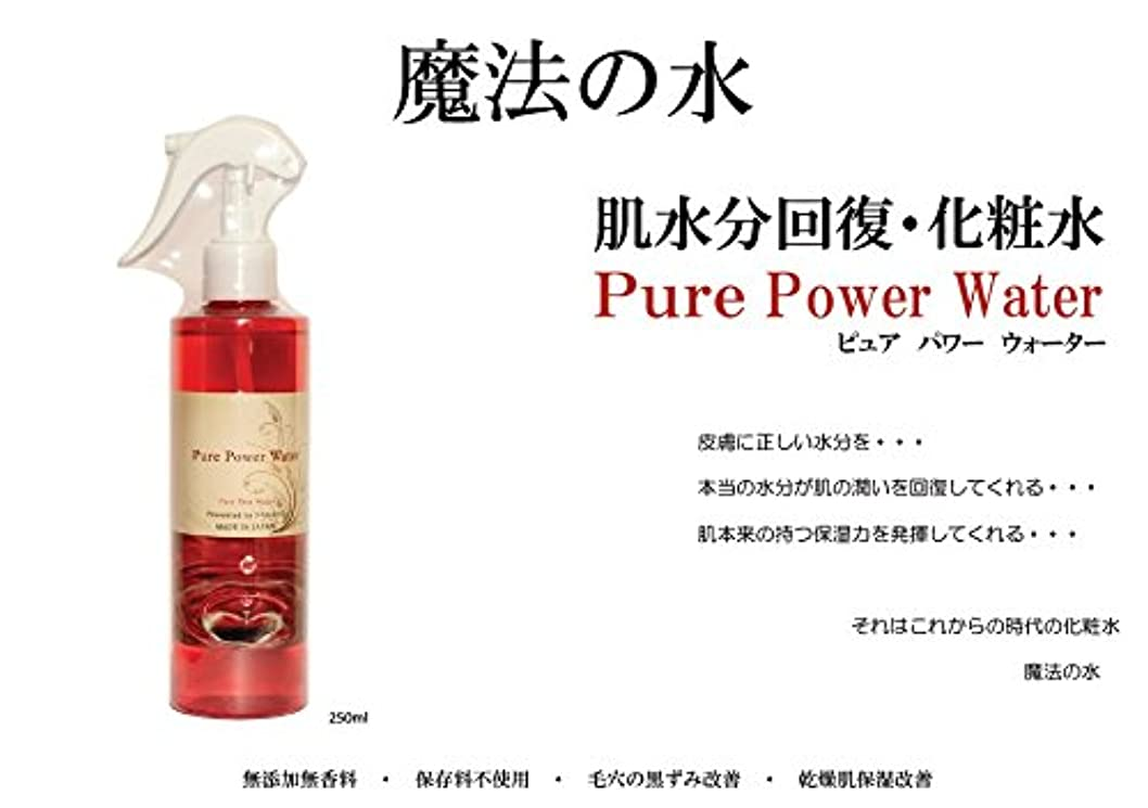 クローン是正小数基礎化粧水 Pure Power Water 化粧水 マイナスイオン ブースター 魔法の化粧水