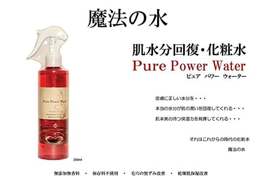 へこみ先に差し迫った基礎化粧水 Pure Power Water 化粧水 マイナスイオン ブースター 魔法の化粧水