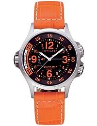[ハミルトン]HAMILTON 腕時計 KHAKI AVIATION GMT AIR RACE H77665673 メンズ [正規輸入品]
