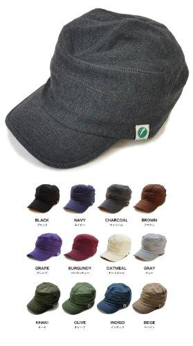 Nakota(ナコタ) スウェット ワークキャップ 帽子 男女兼用 Lサイズ チャコール