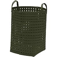 かご バスケット 持ち手 収納 おしゃれ 天然素材 インテリア 日本製 Bandc Basket MH5 (color 10 モスグリーン)