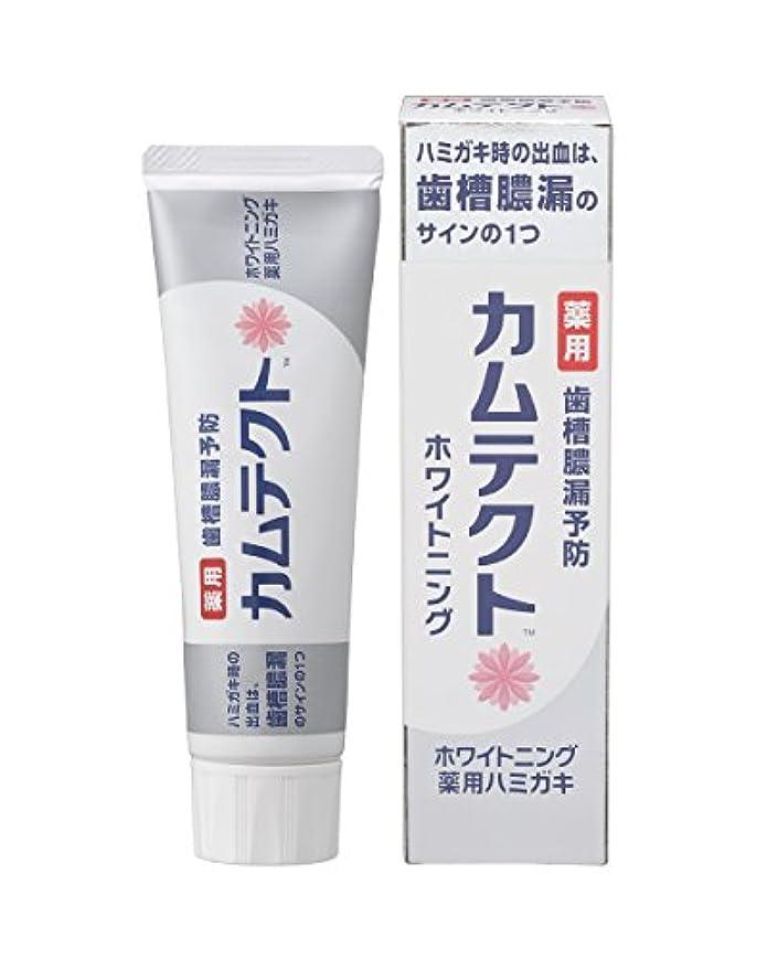 一部インフルエンザ振動させるカムテクト ホワイトニング薬用ハミガキ 105g 【医薬部外品】