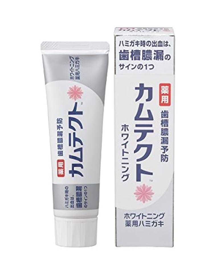 肥料漏れ洗剤カムテクト ホワイトニング薬用ハミガキ 105g 【医薬部外品】