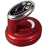 ダイエット神器 セルライト ケア ボディ用超音波電動3D美容ヘッド 吸い玉ヘッド 脂肪吸引 ダイエット シェイプアップ シェイプ 自宅 美容神器 (レッド)