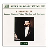STRAUSS JR : Famous Waltzes/Polkas/Marches and Overtures【CD】 [並行輸入品]