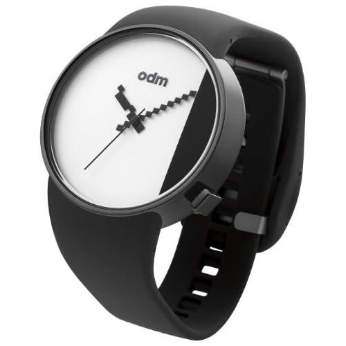 [オーディーエム]o.d.m 腕時計 STUDIO アナログ表示 5気圧防水 ホワイト×ブラック DD134-5 メンズ 【正規輸入品】
