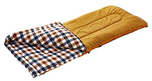 コールマン 寝袋 フリースイージーキャリースリーピングバッグ/C0 ブラウンチェック[使用可能温度0度] 2000026648