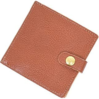 [412228]IL BISONTE(イルビゾンテ)二つ折りレザーウォレット size:one size color:31.red brown