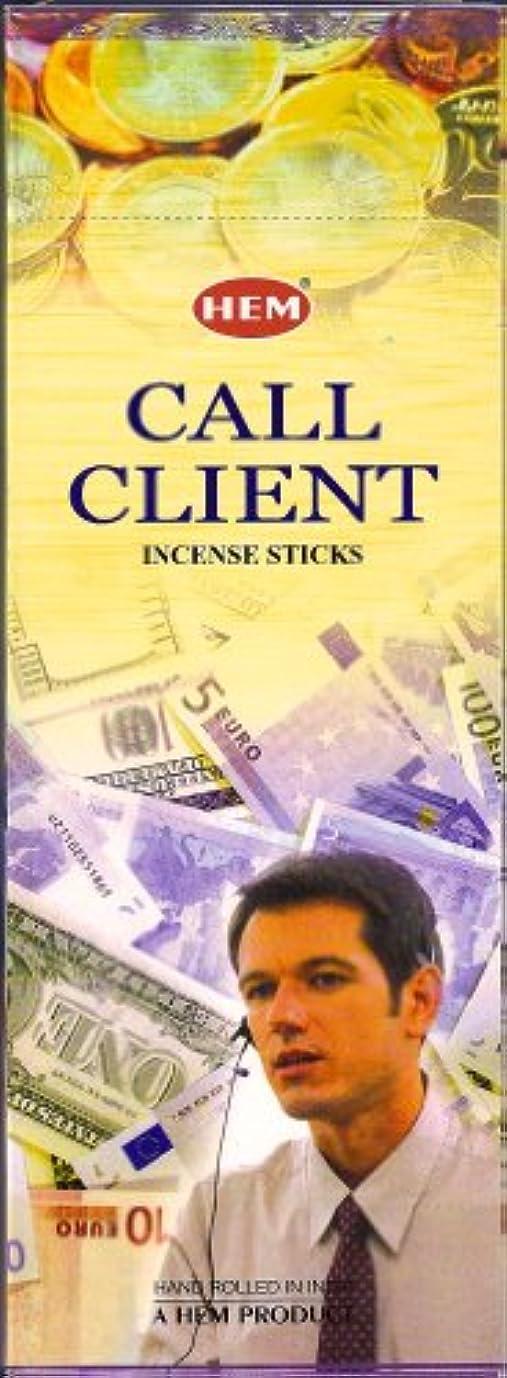 ストッキングビルダージャンピングジャックHEM(ヘム)社 コールクライアント香 スティック CALL CLIENT 6箱セット