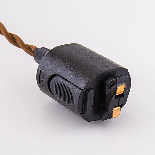 ライティングレール用 電球ソケットE26 真鍮 led対応 電球なし ペンダントライト 1灯